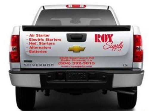 Roy Supply Company Pick up and Delivery Truck